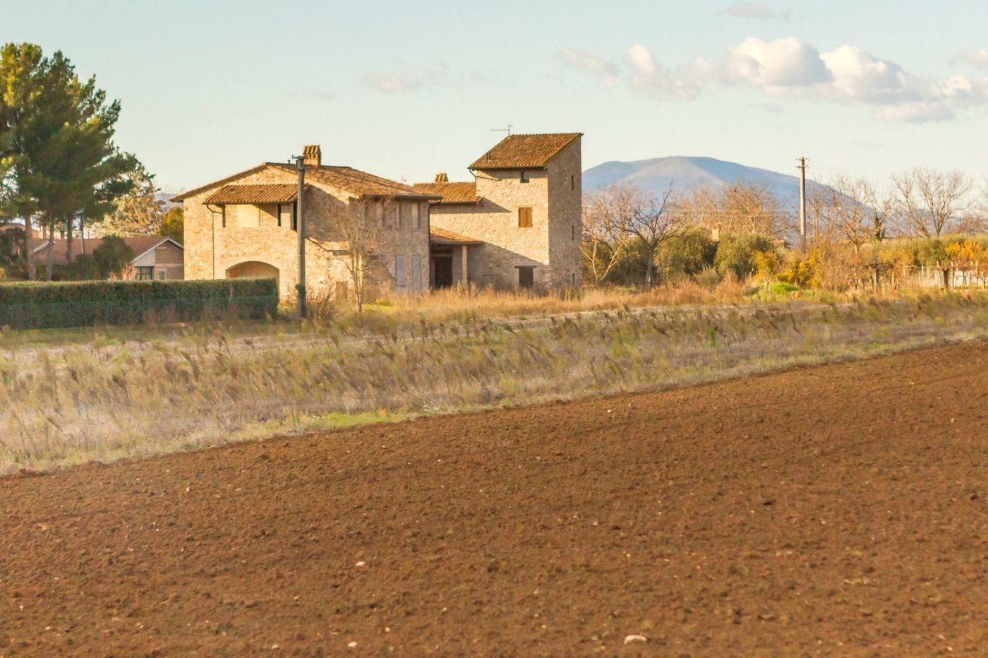 意大利路途,秋后的农村_图1-16