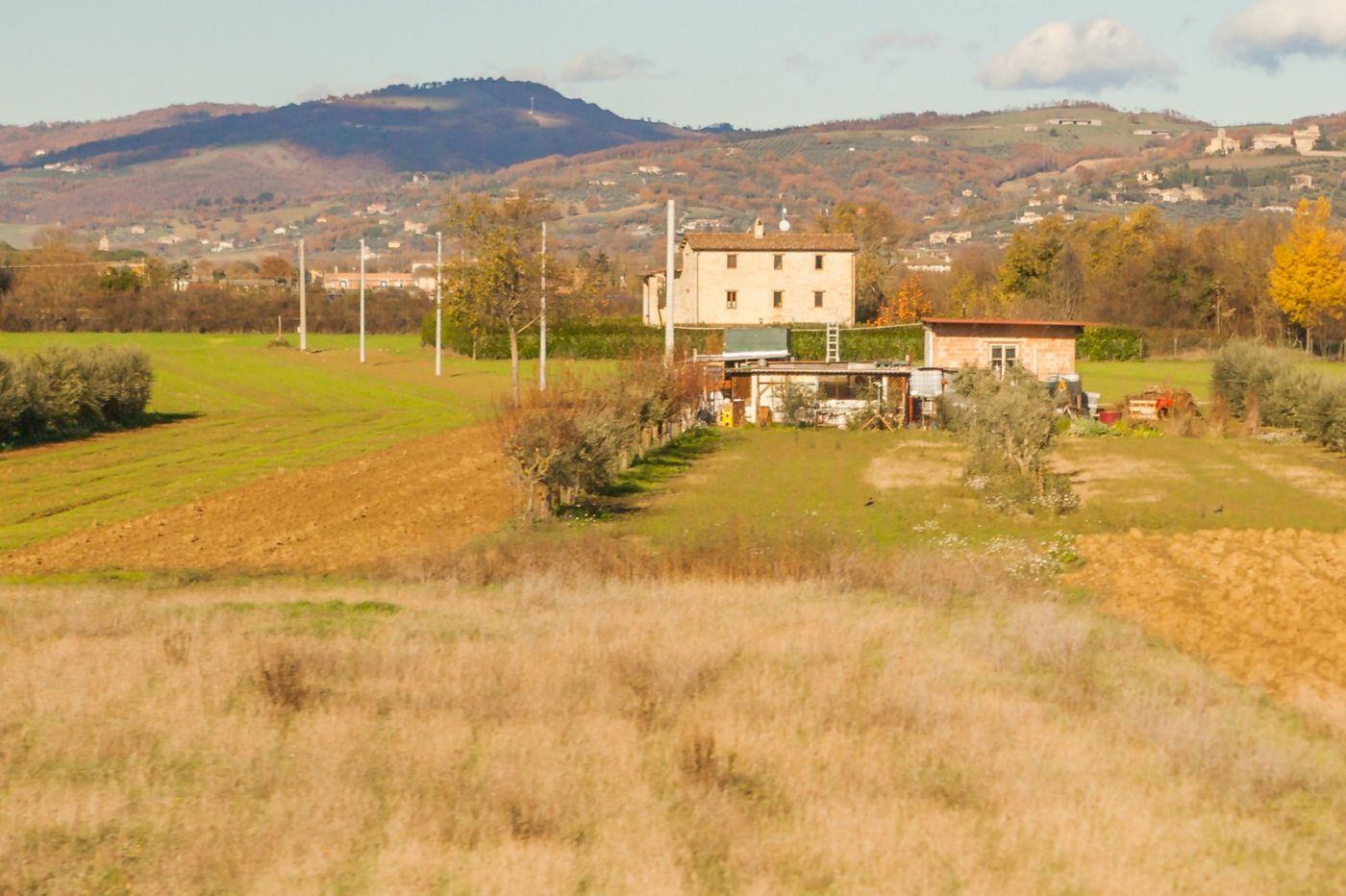 意大利路途,秋后的农村_图1-6
