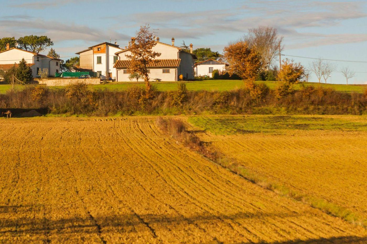 意大利路途,秋后的农村_图1-9