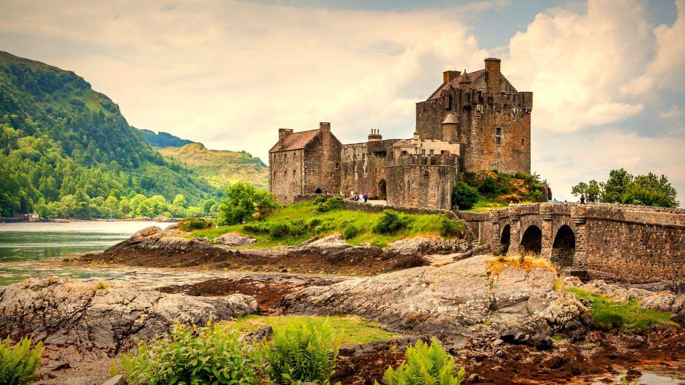 苏格兰艾琳多南城堡(Eilean Donan castle),十三世纪的杰作_图1-1