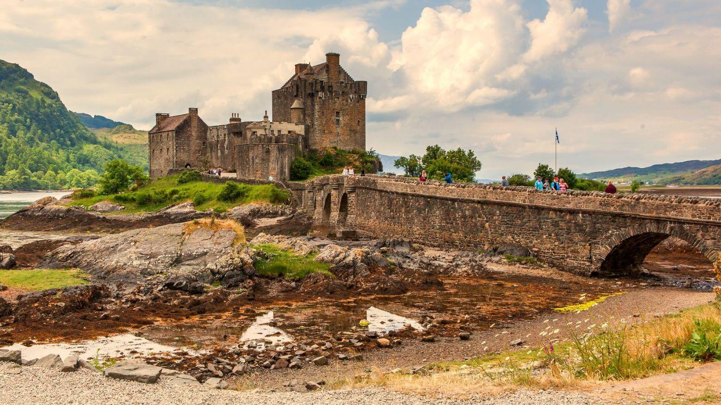 苏格兰艾琳多南城堡(Eilean Donan castle),十三世纪的杰作_图1-3