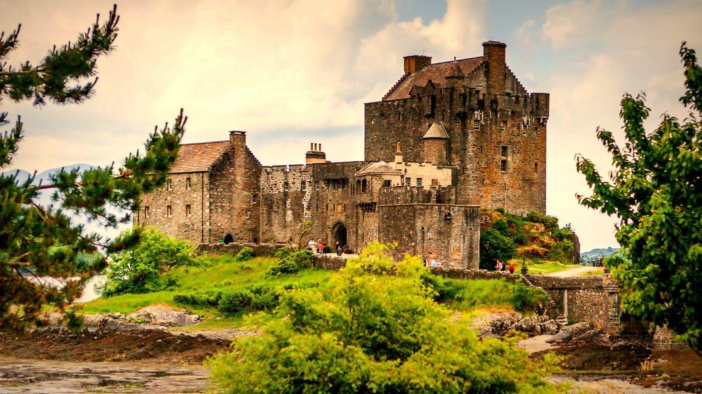 苏格兰艾琳多南城堡(Eilean Donan castle),十三世纪的杰作_图1-5