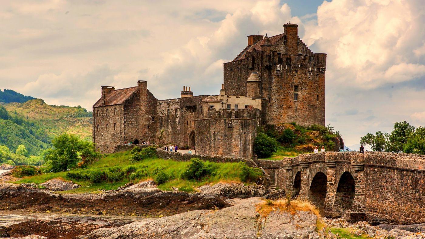 苏格兰艾琳多南城堡(Eilean Donan castle),十三世纪的杰作_图1-6