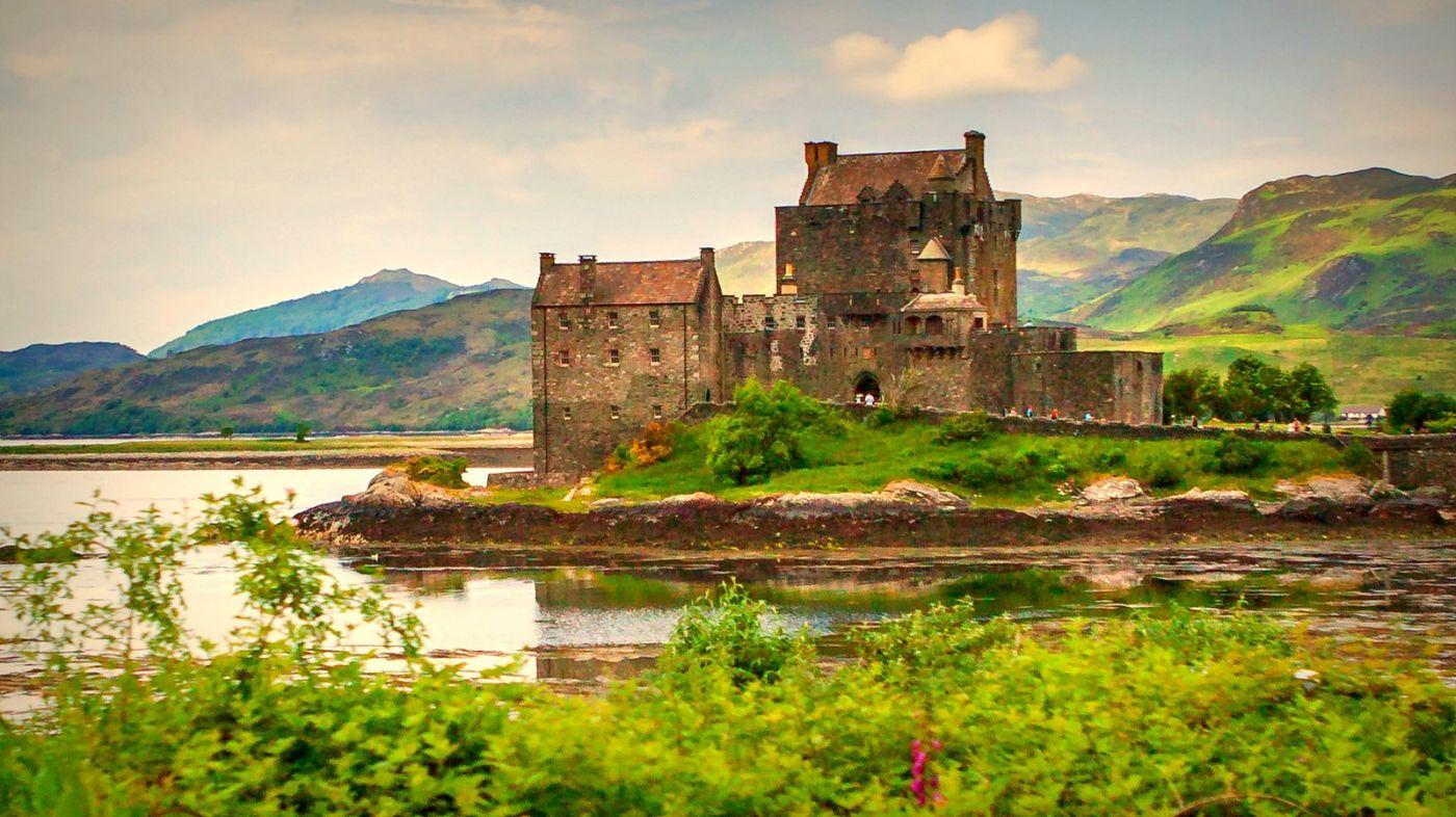 苏格兰艾琳多南城堡(Eilean Donan castle),十三世纪的杰作_图1-8