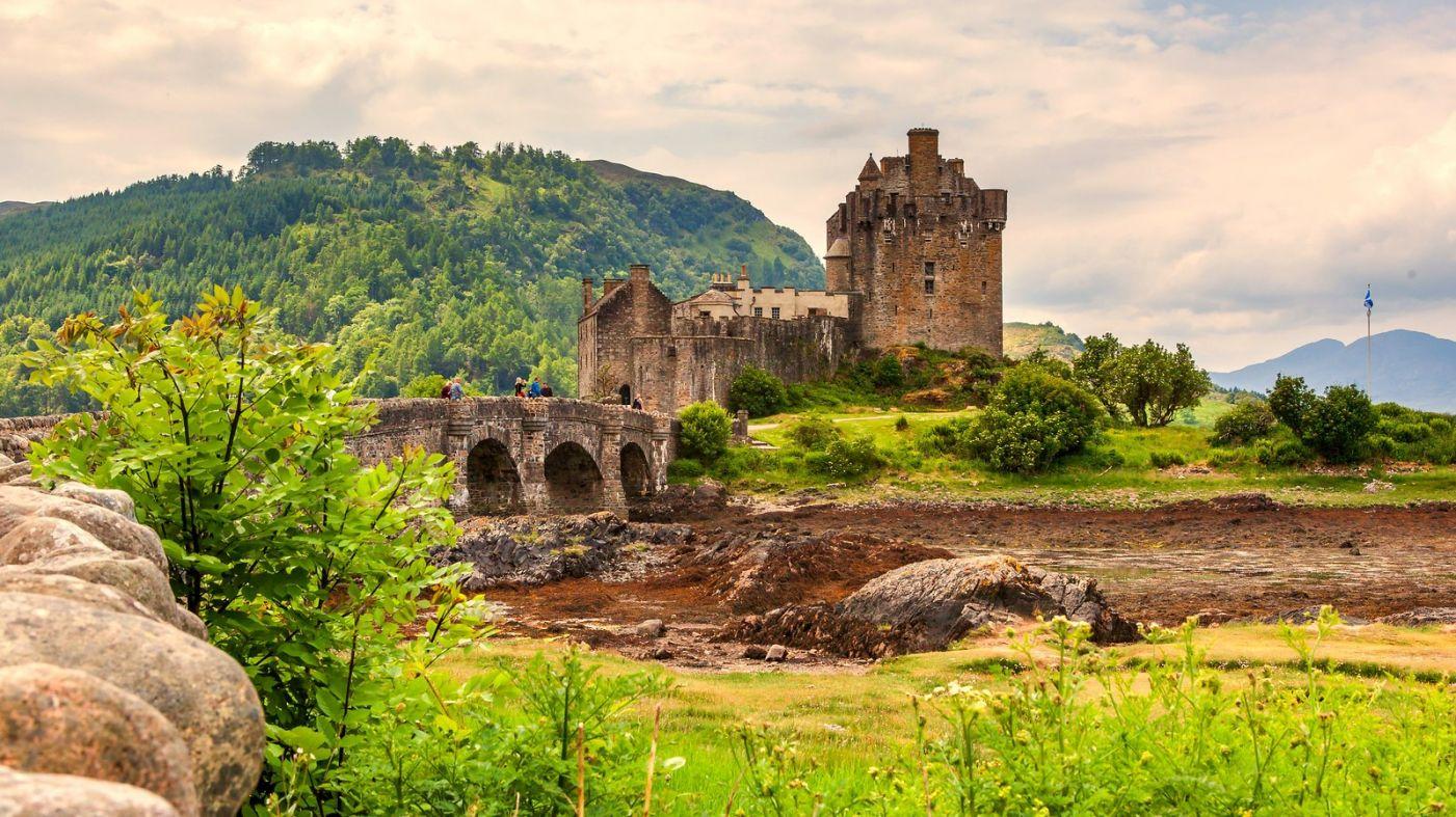 苏格兰艾琳多南城堡(Eilean Donan castle),十三世纪的杰作_图1-9