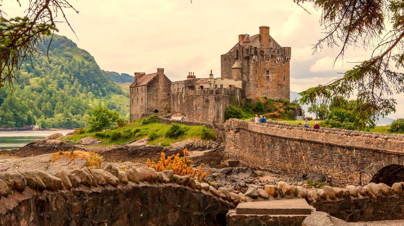 苏格兰艾琳多南城堡(Eilean Donan castle),十三世纪的杰作_图1-10