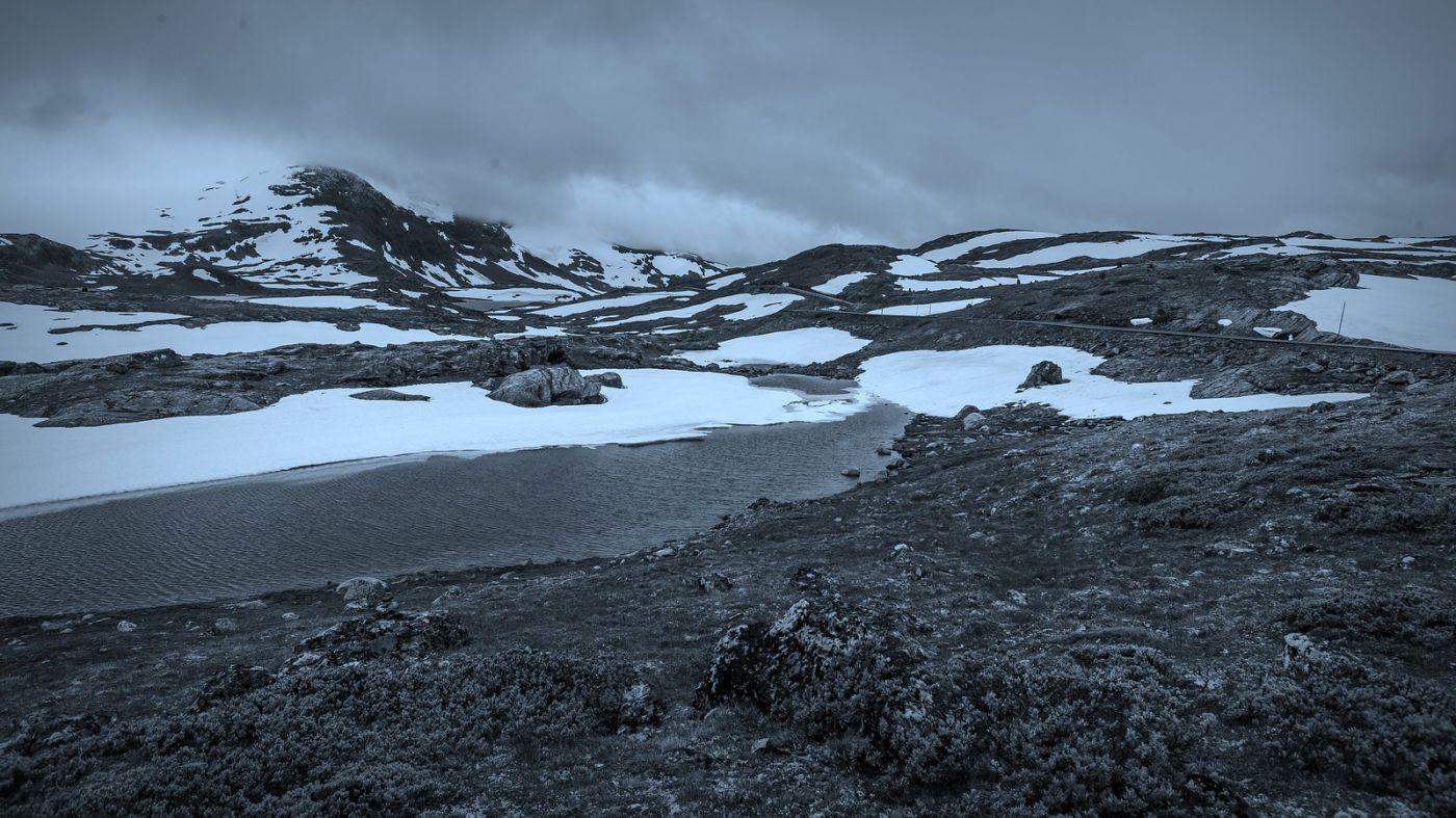 挪威屋脊(Sognefjellet),白雪皑皑一望无际_图1-7