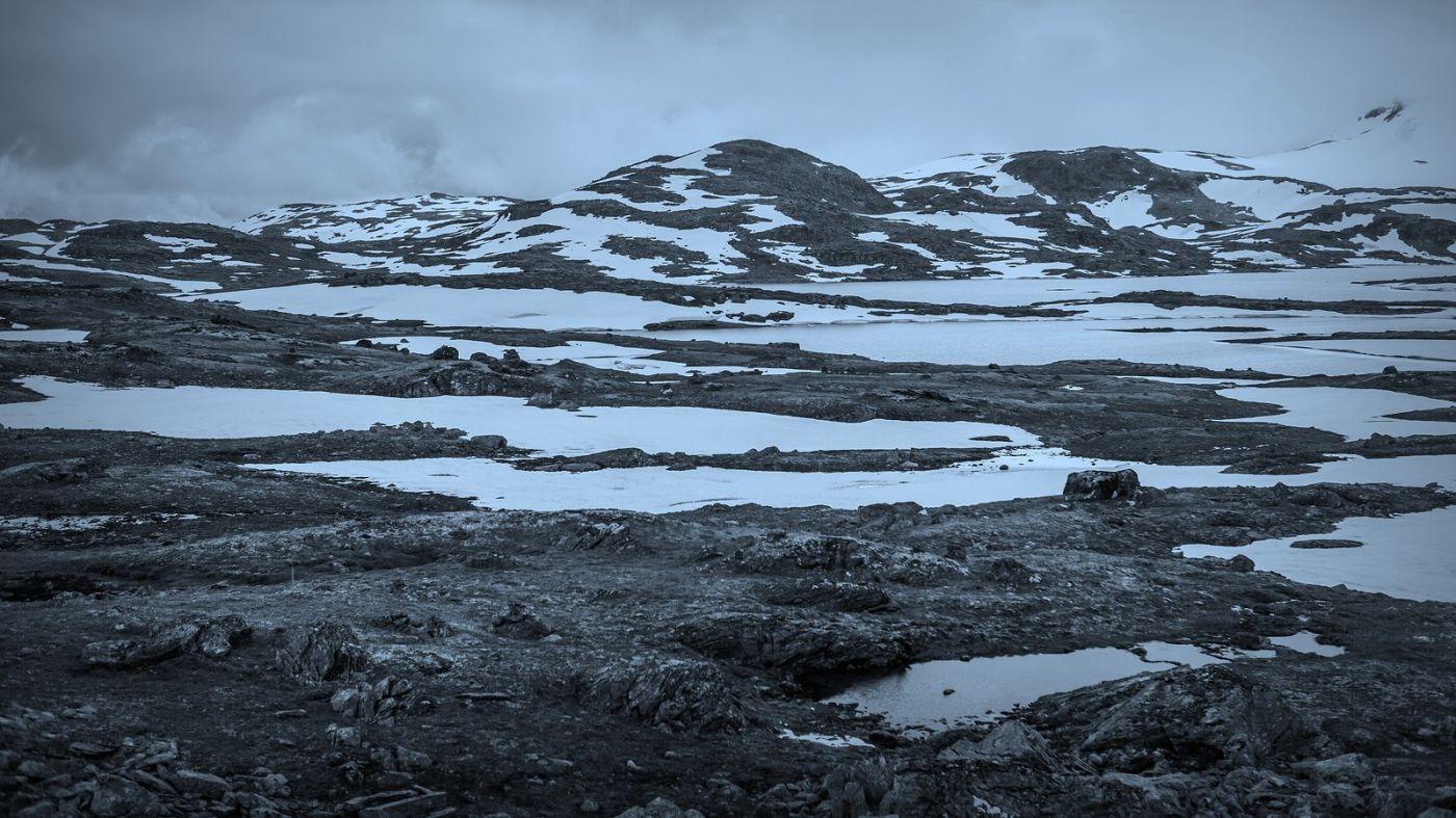 挪威屋脊(Sognefjellet),白雪皑皑一望无际_图1-1