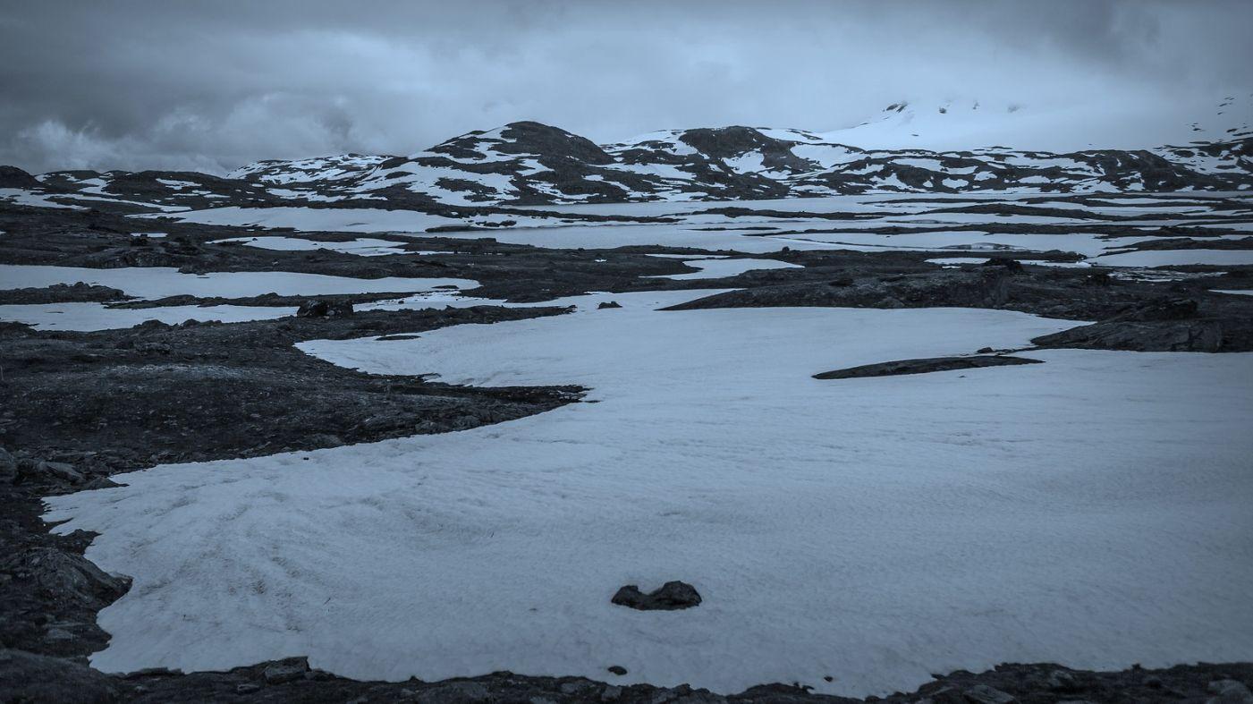 挪威屋脊(Sognefjellet),白雪皑皑一望无际_图1-3