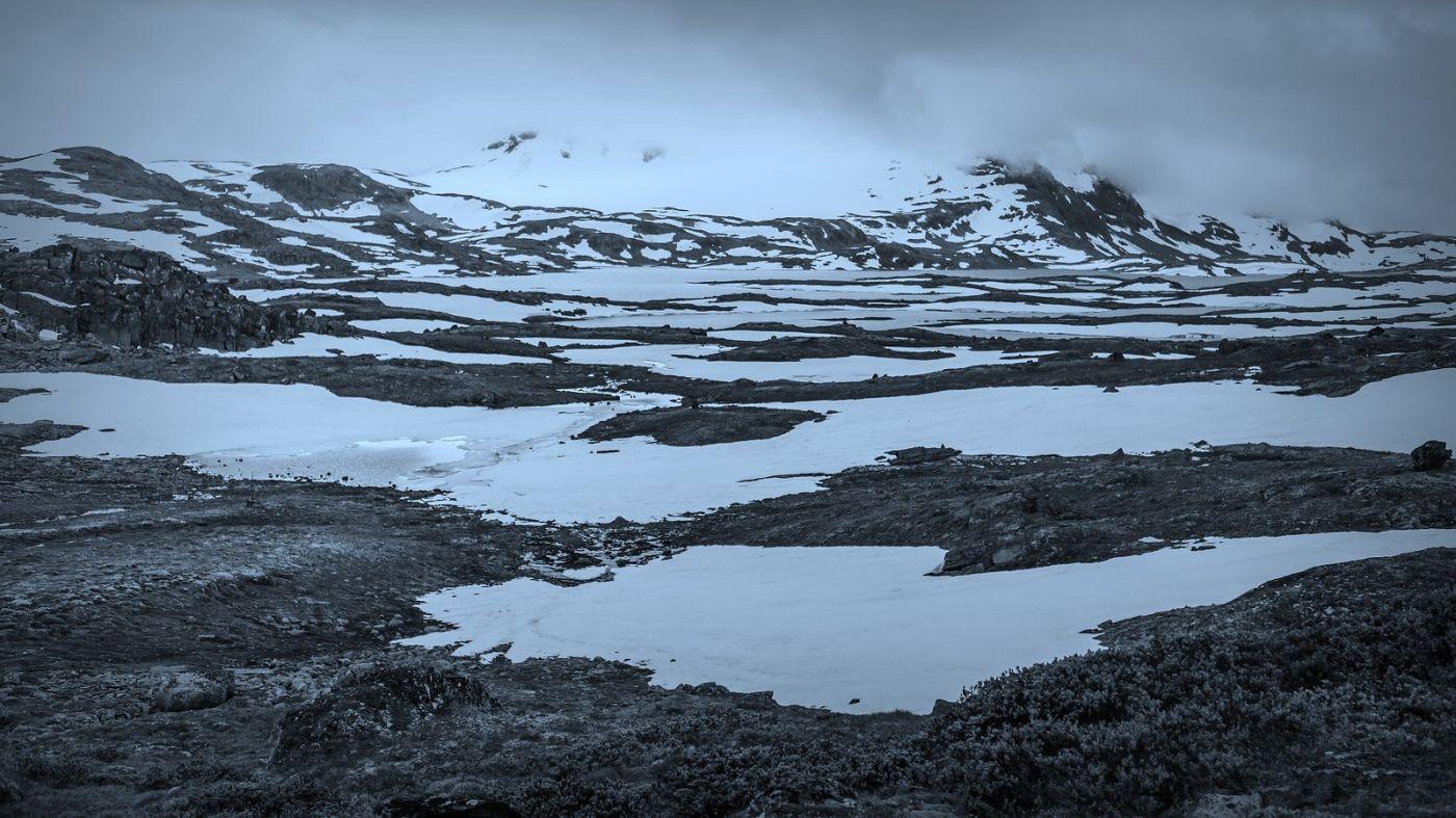 挪威屋脊(Sognefjellet),白雪皑皑一望无际_图1-9