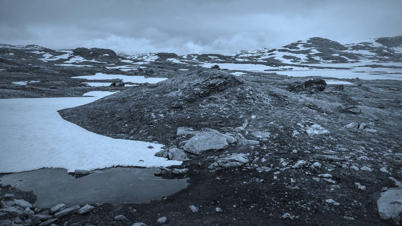 挪威屋脊(Sognefjellet),白雪皑皑一望无际_图1-13