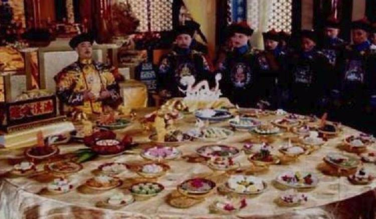 清朝皇帝开国宴 满汉全席,吃的是什么东西?_图1-1