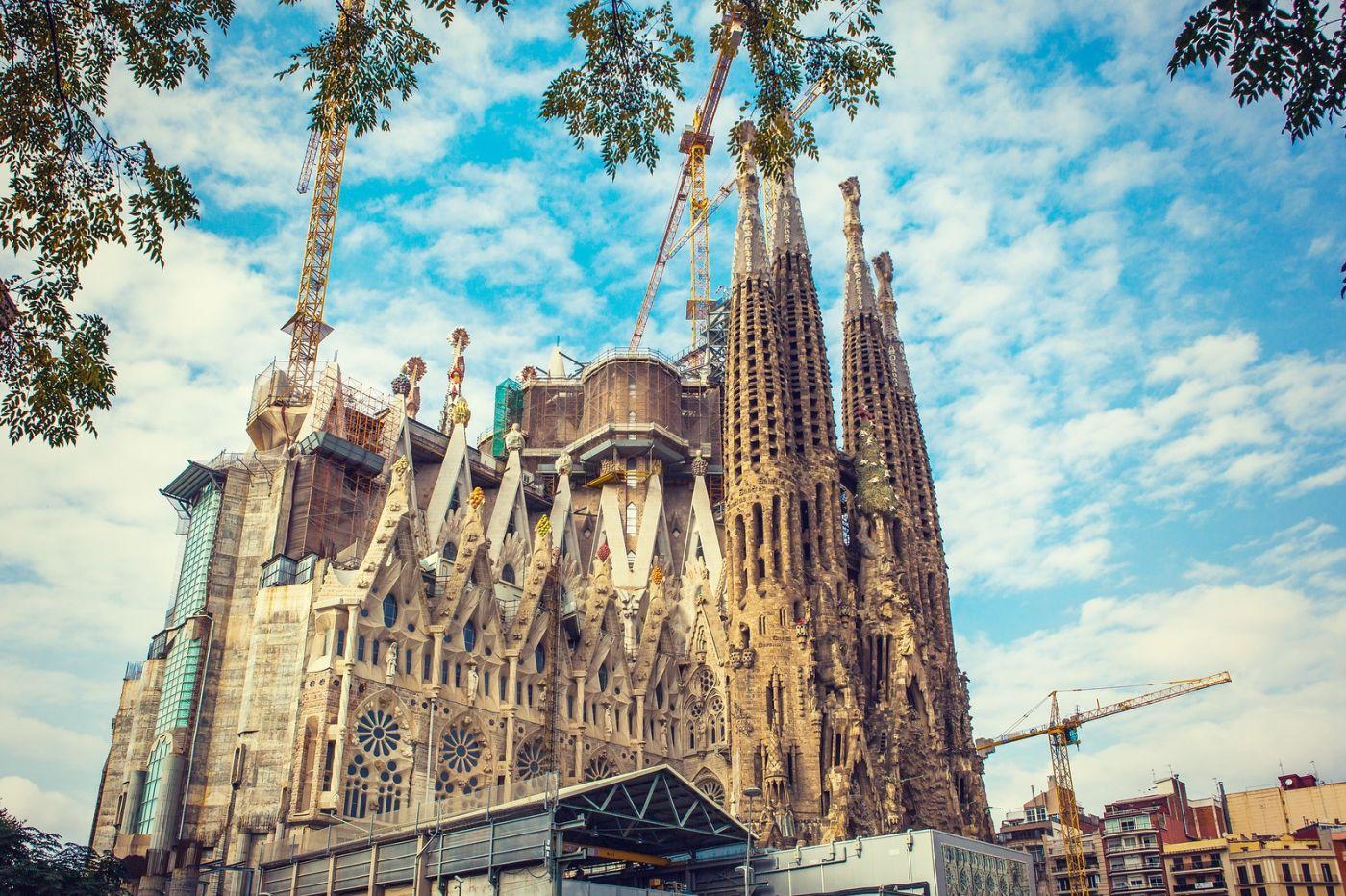 西班牙圣家堂(Sagrada Família),百年还未完工的世界遗产_图1-6