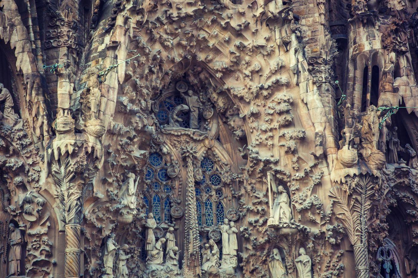 西班牙圣家堂(Sagrada Família),百年还未完工的世界遗产_图1-7