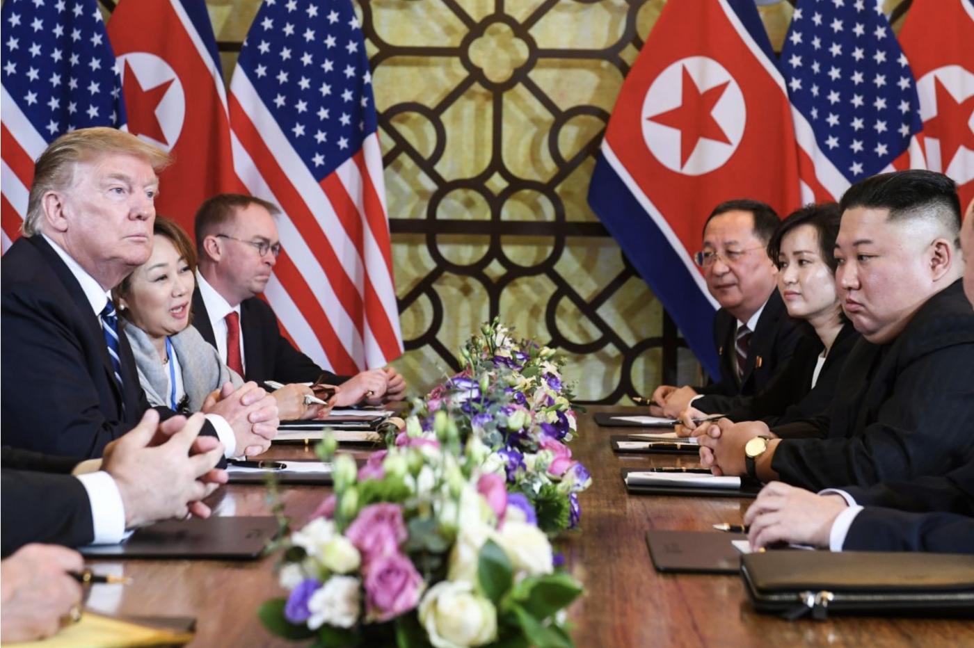 令人失望:美朝高峰会谈未达成协议_图1-1