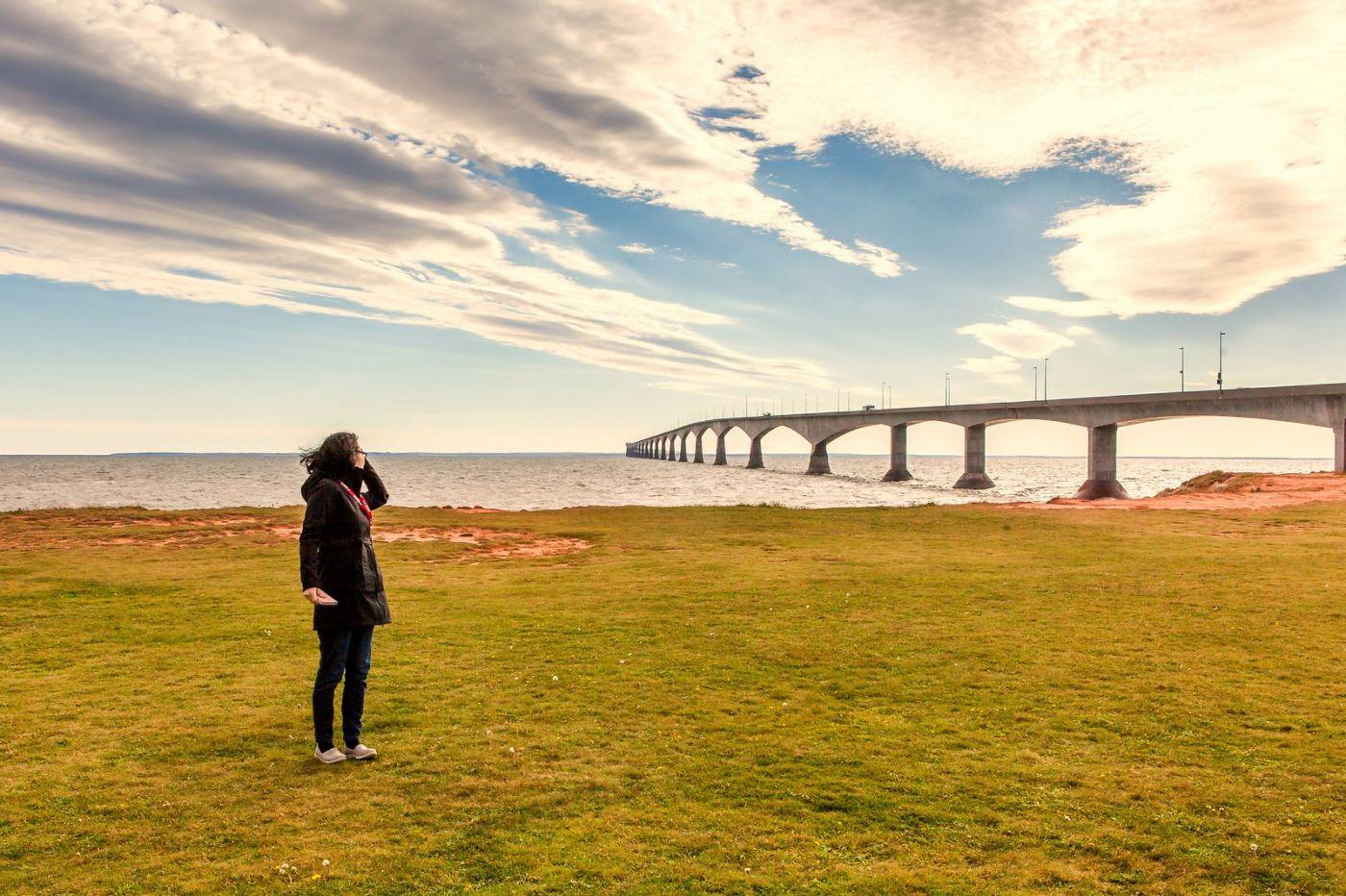 加拿大风景,长桥和灯塔_图1-11