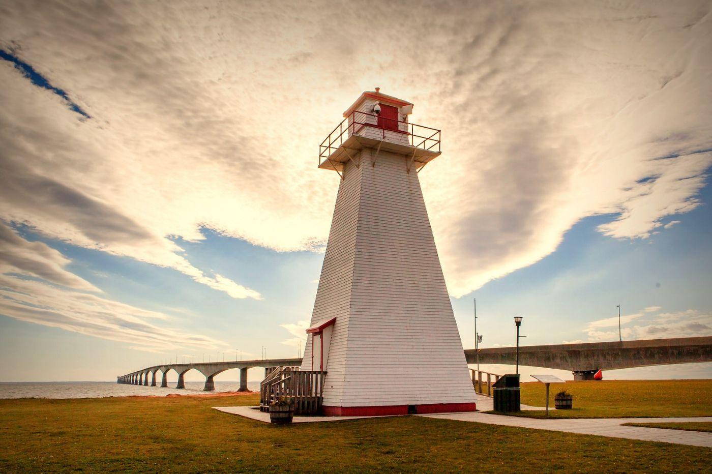 加拿大风景,长桥和灯塔_图1-12