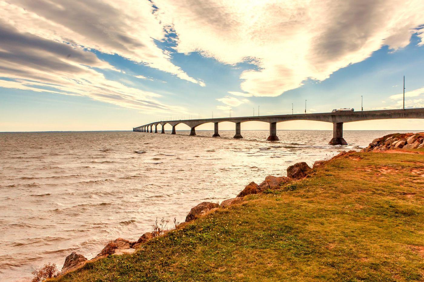 加拿大风景,长桥和灯塔_图1-9