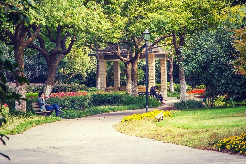 上海高桥公园,忙里偷闲逛一圈_图1-2