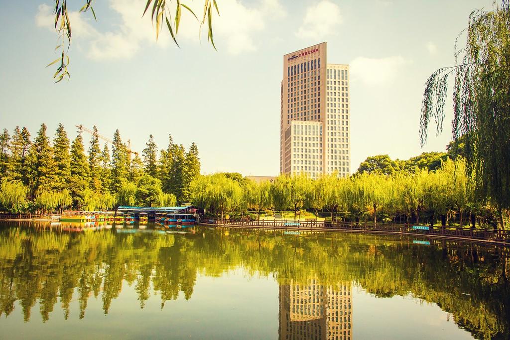 上海高桥公园,忙里偷闲逛一圈_图1-1