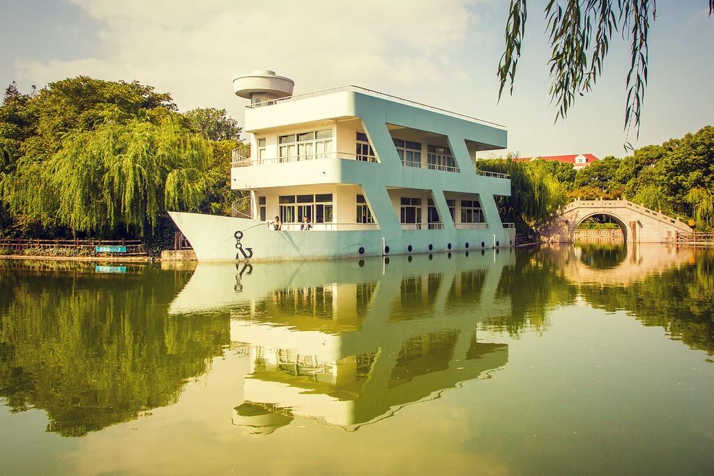 上海高桥公园,忙里偷闲逛一圈_图1-5