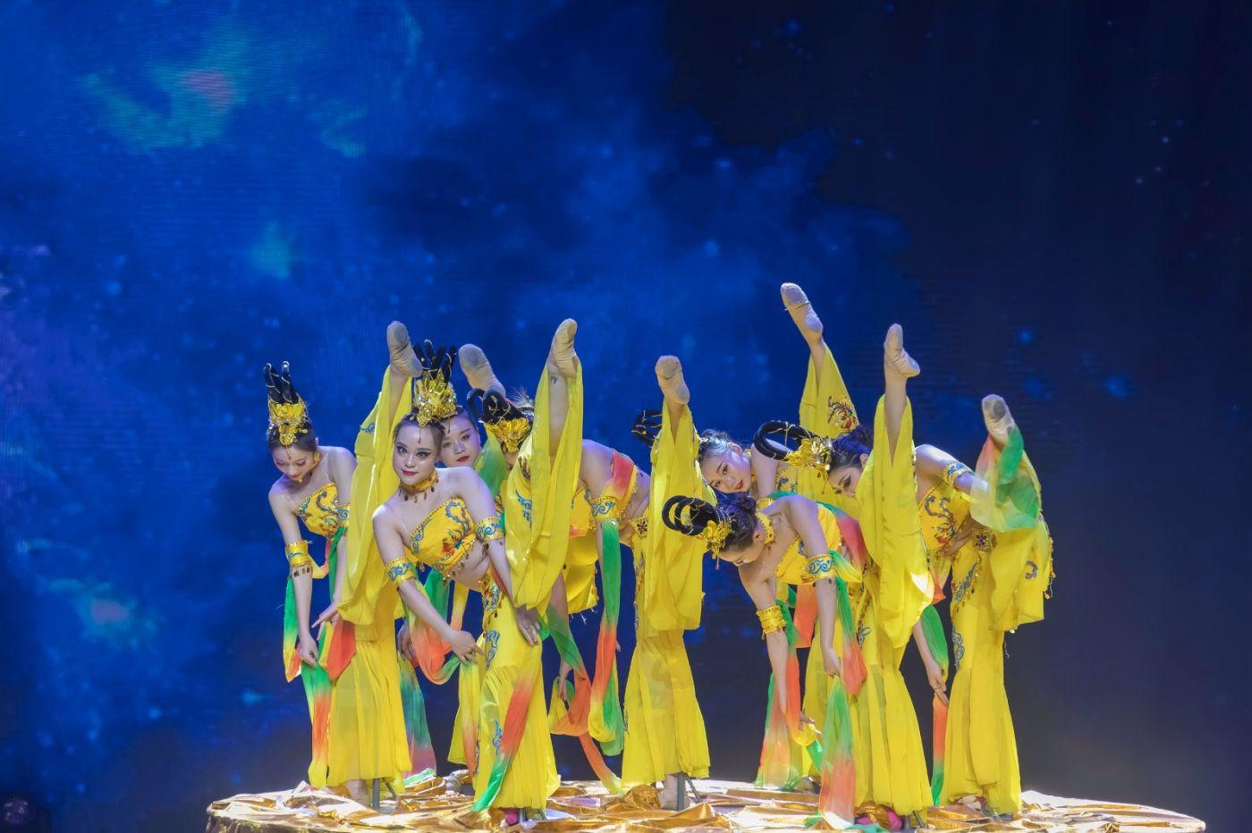 沂蒙大地上 有一种舞蹈叫飞天 这是几位临沂女孩的杰作 美轮美奂 ..._图1-29