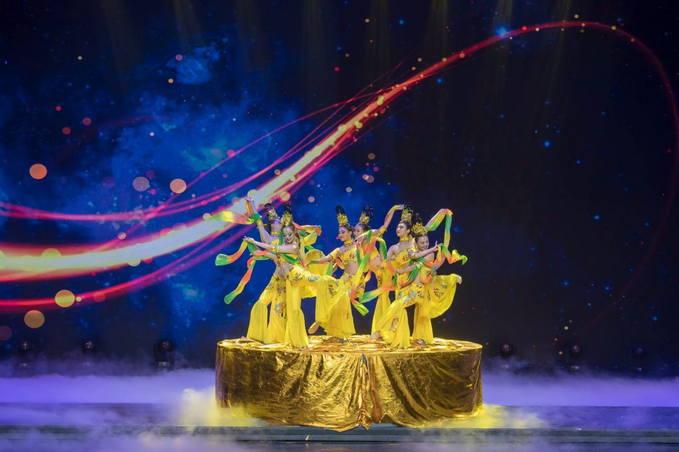 沂蒙大地上 有一种舞蹈叫飞天 这是几位临沂女孩的杰作 美轮美奂 ..._图1-68