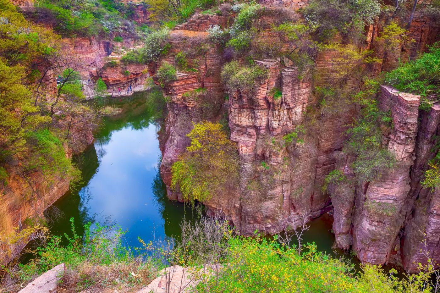 崖壁上的古村落 郭亮村 绝处也有风景_图1-6