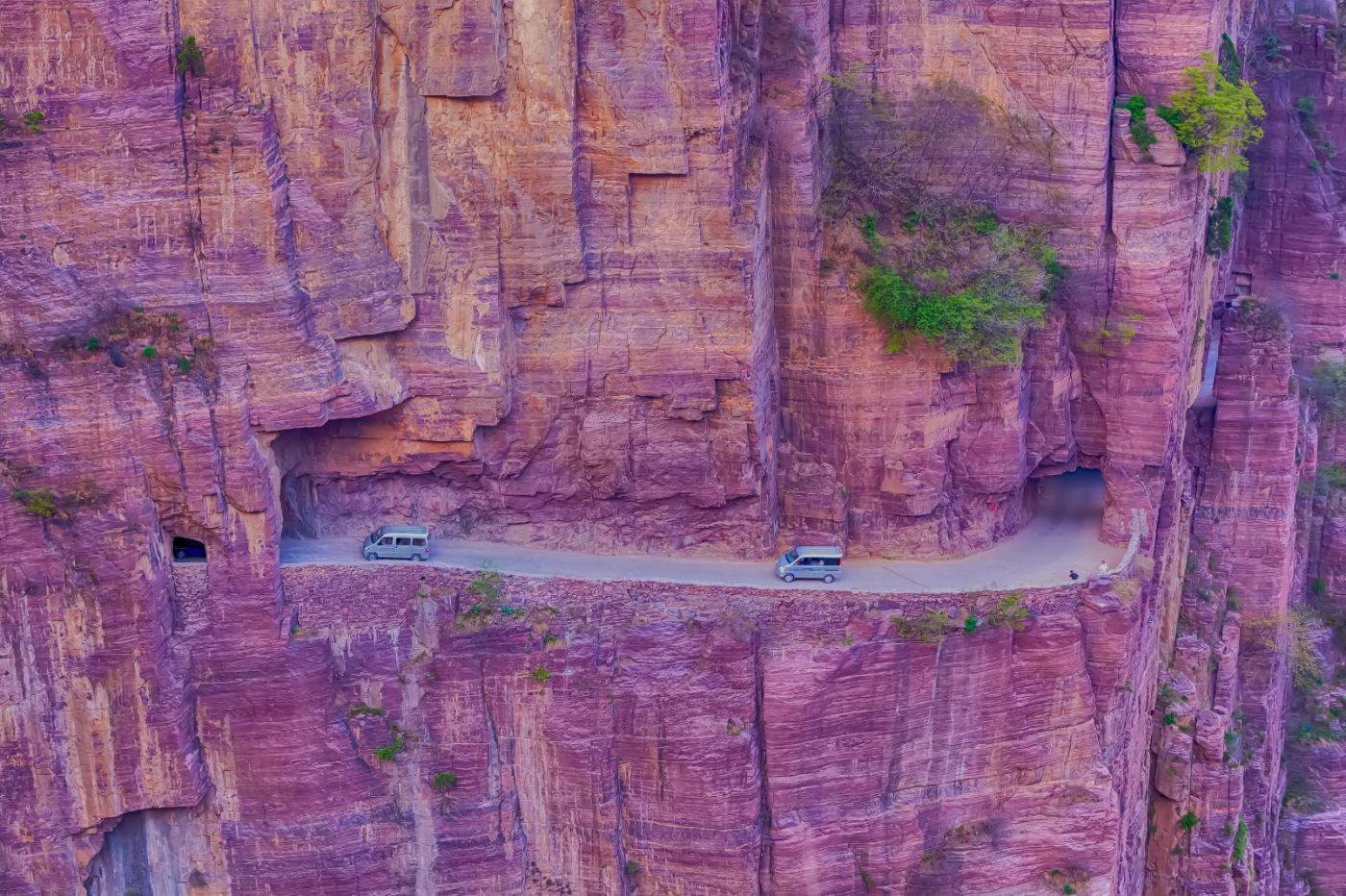 崖壁上的古村落 郭亮村 绝处也有风景_图1-8