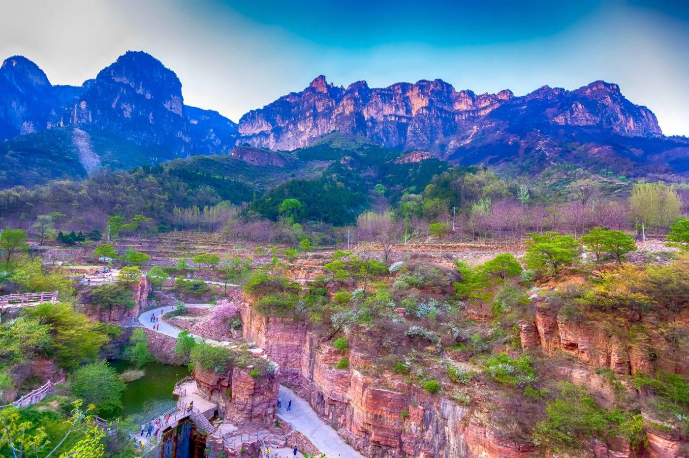 崖壁上的古村落 郭亮村 绝处也有风景_图1-12
