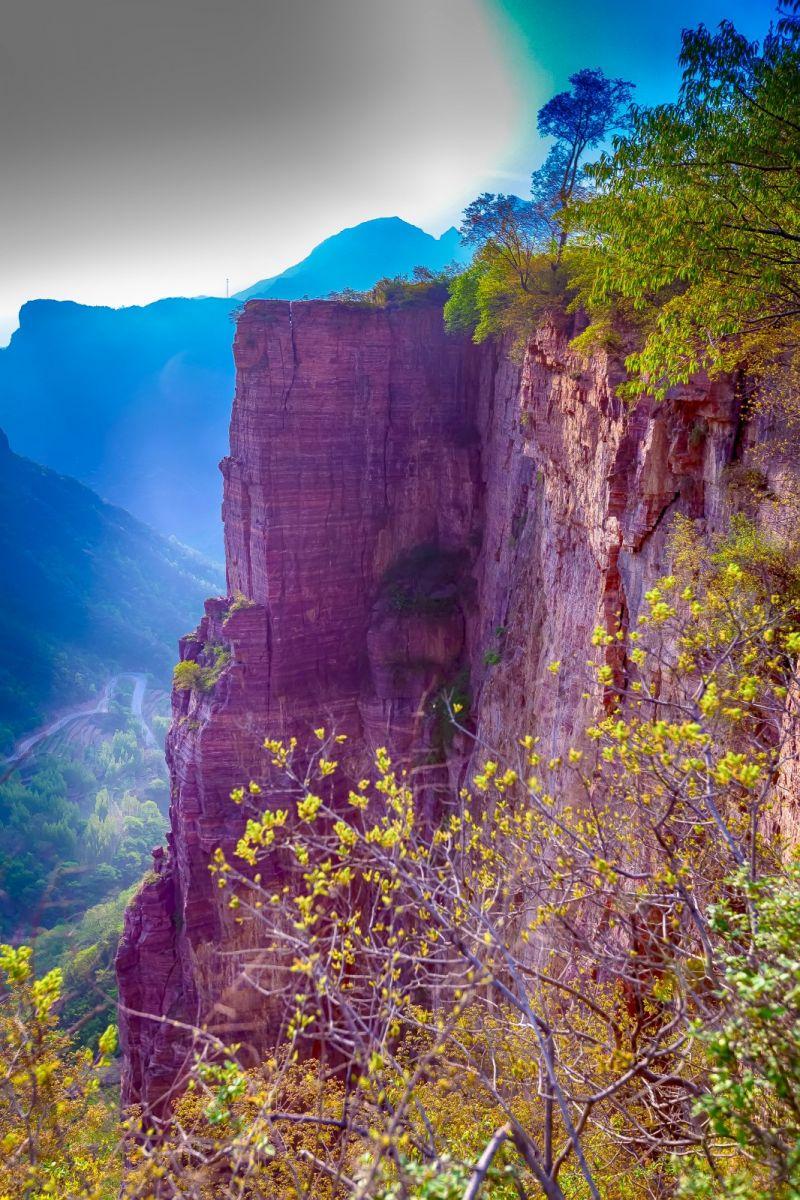 崖壁上的古村落 郭亮村 绝处也有风景_图1-17