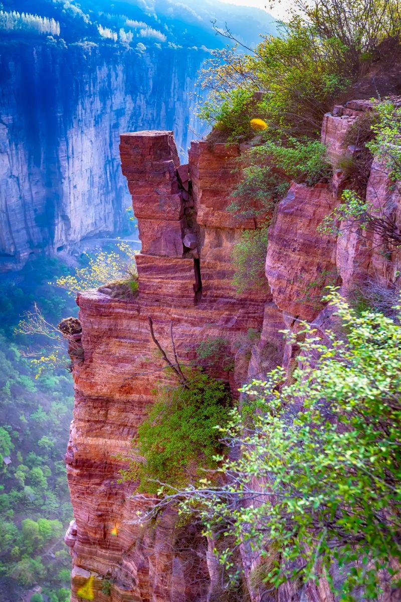 崖壁上的古村落 郭亮村 绝处也有风景_图1-18
