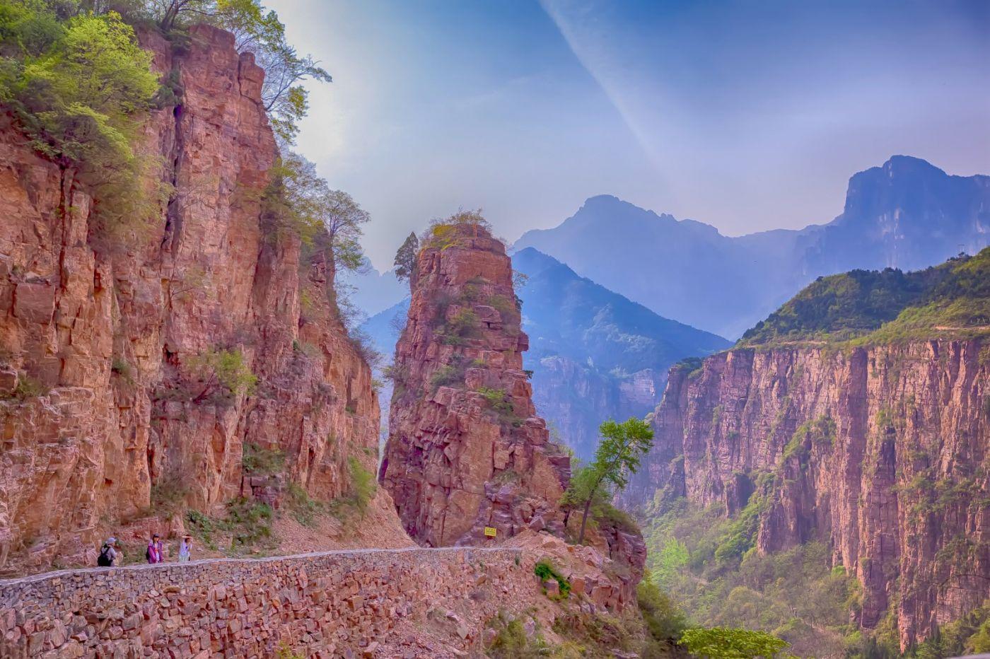 崖壁上的古村落 郭亮村 绝处也有风景_图1-26