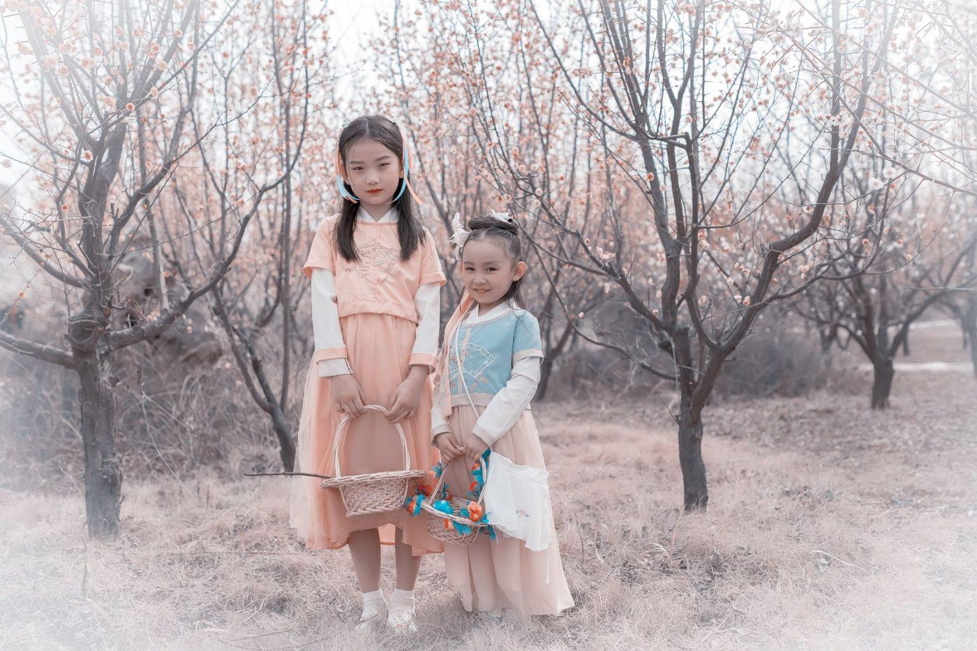 梅林馀妍不争春 小小仙女下凡尘 在费县拍摄小小仙女候依琳_图1-1