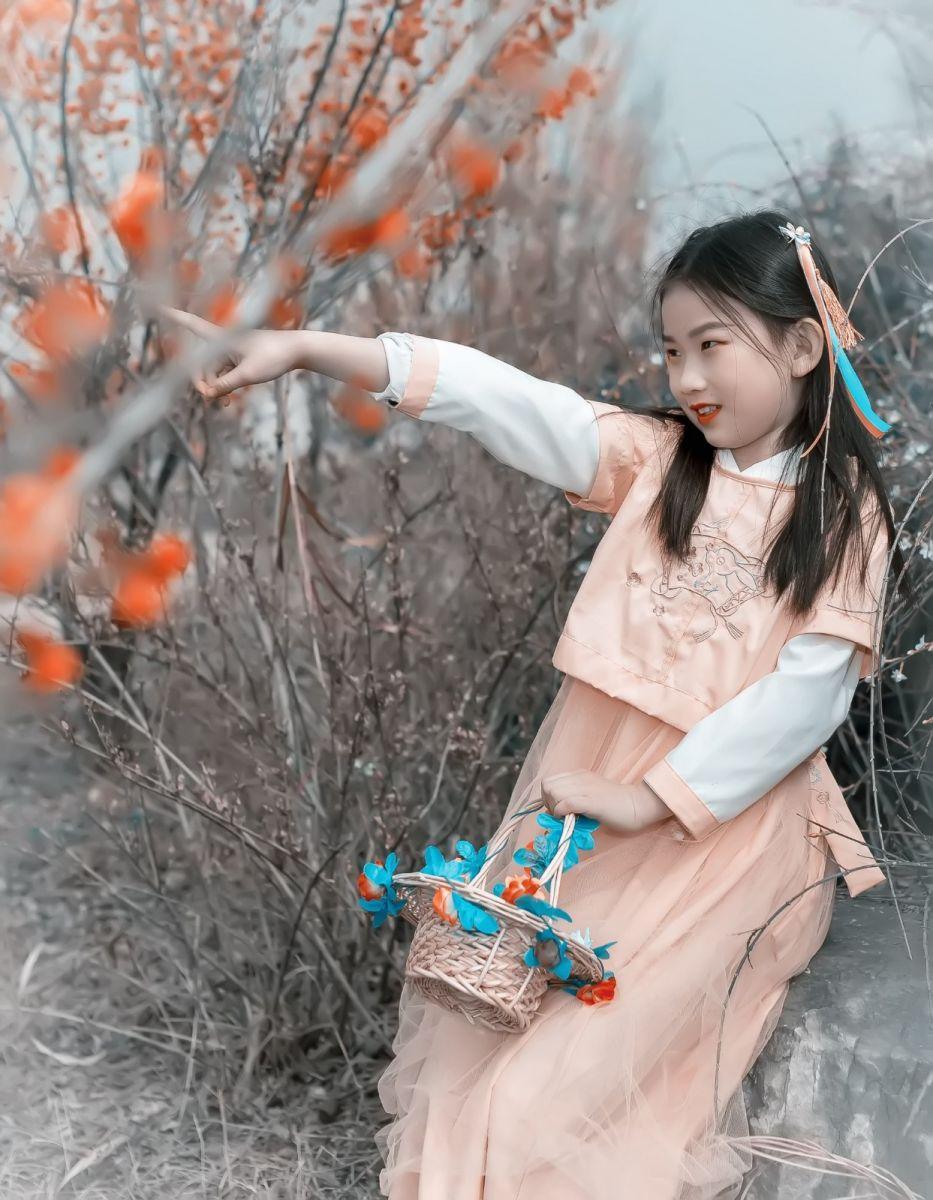 梅林馀妍不争春 小小仙女下凡尘 在费县拍摄小小仙女候依琳_图1-20