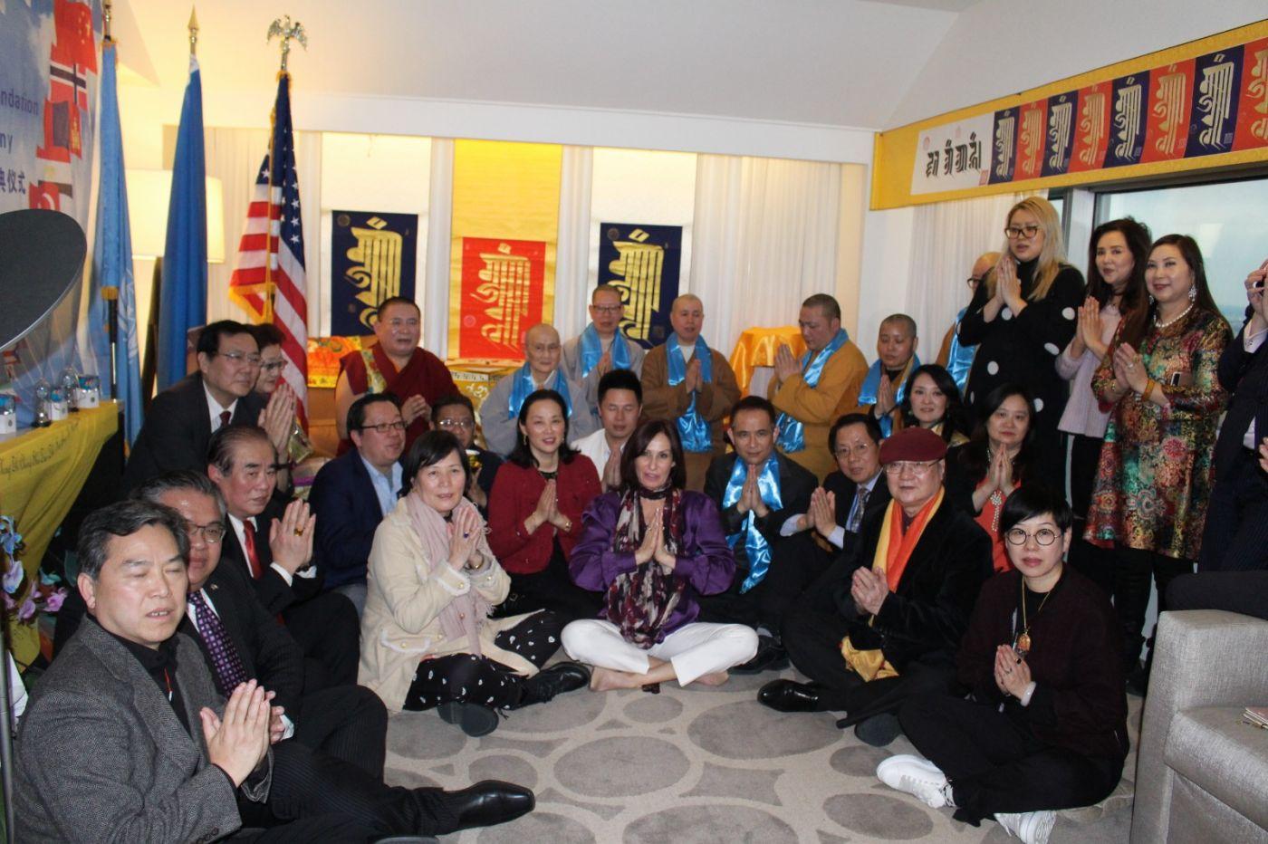 """""""金刚法王和平慈善基金会""""启动庆典仪式在联合国一号举行 ..._图1-4"""