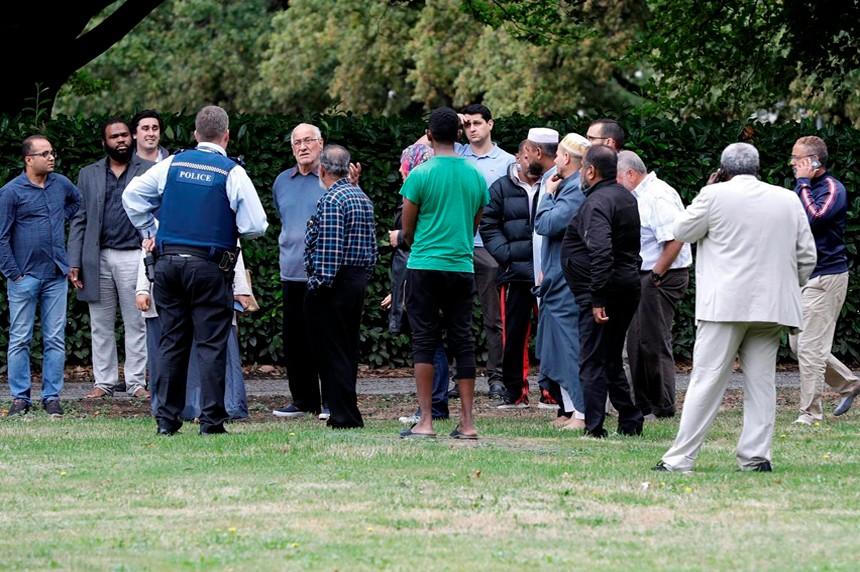 從圖片看今天新西蘭重大恐怖襲擊案_圖1-4
