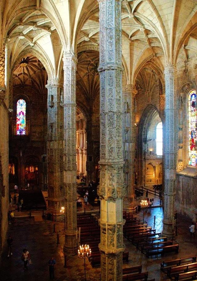 嘆為觀止的建築藝術--熱羅尼姆斯修道院_圖1-13