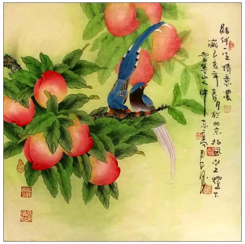 牛志高花鸟画_图1-1
