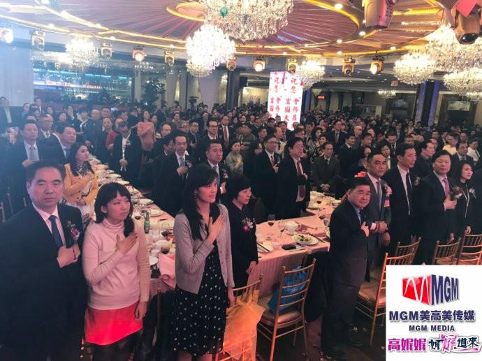 高娓娓:福建华人联合会首届职员就职典礼在纽约盛大举行_图1-5
