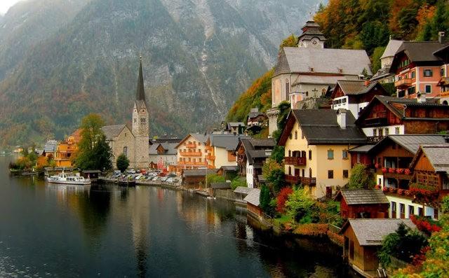 奥地利村庄-----哈尔施塔特_图1-3
