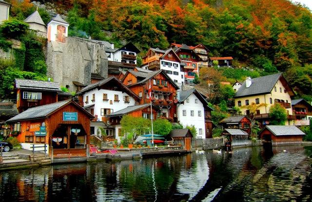 奥地利村庄-----哈尔施塔特_图1-5
