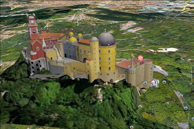 葡萄牙的世界遗产---佩纳宫_图1-3