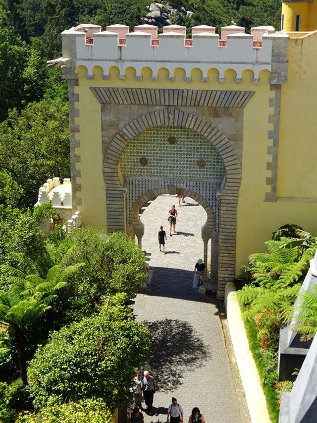 葡萄牙的世界遗产---佩纳宫_图1-8
