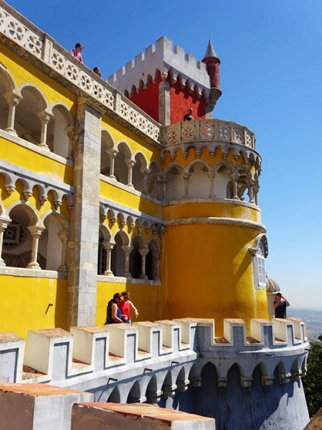 葡萄牙的世界遗产---佩纳宫_图1-17