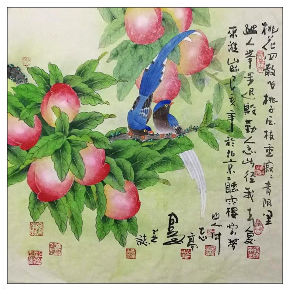 牛志高花鸟画2019_图1-6