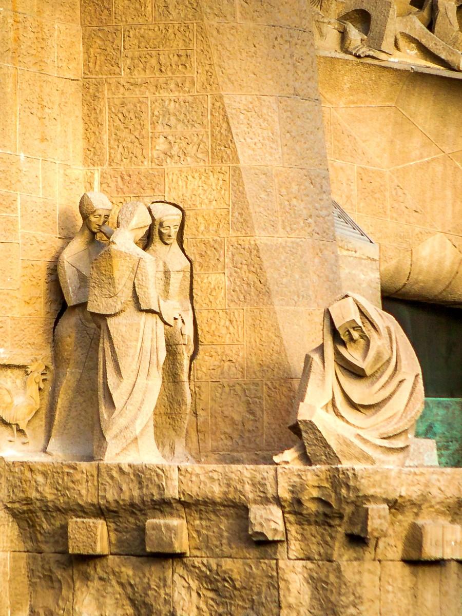 西班牙圣家堂(Sagrada Família), 传统里的超现实_图1-38
