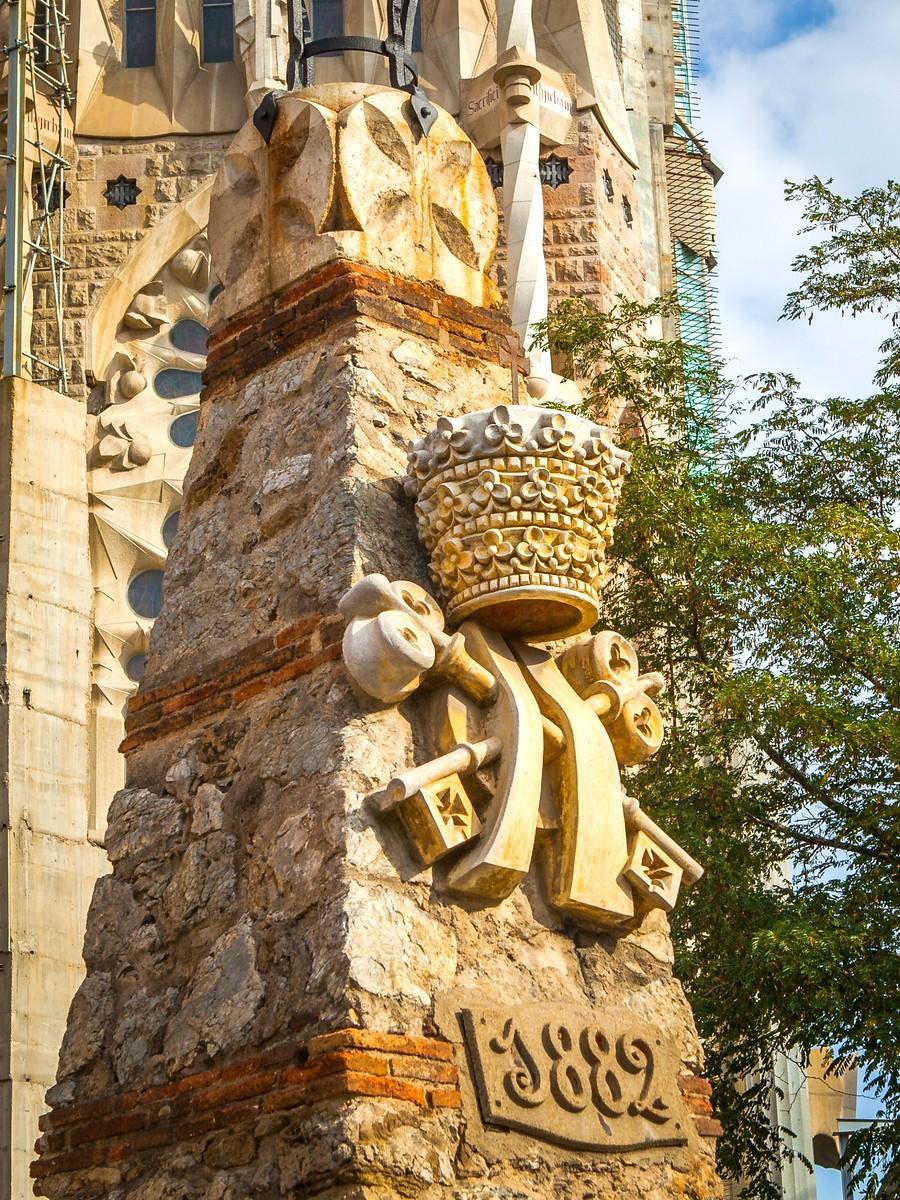西班牙圣家堂(Sagrada Família), 传统里的超现实_图1-33
