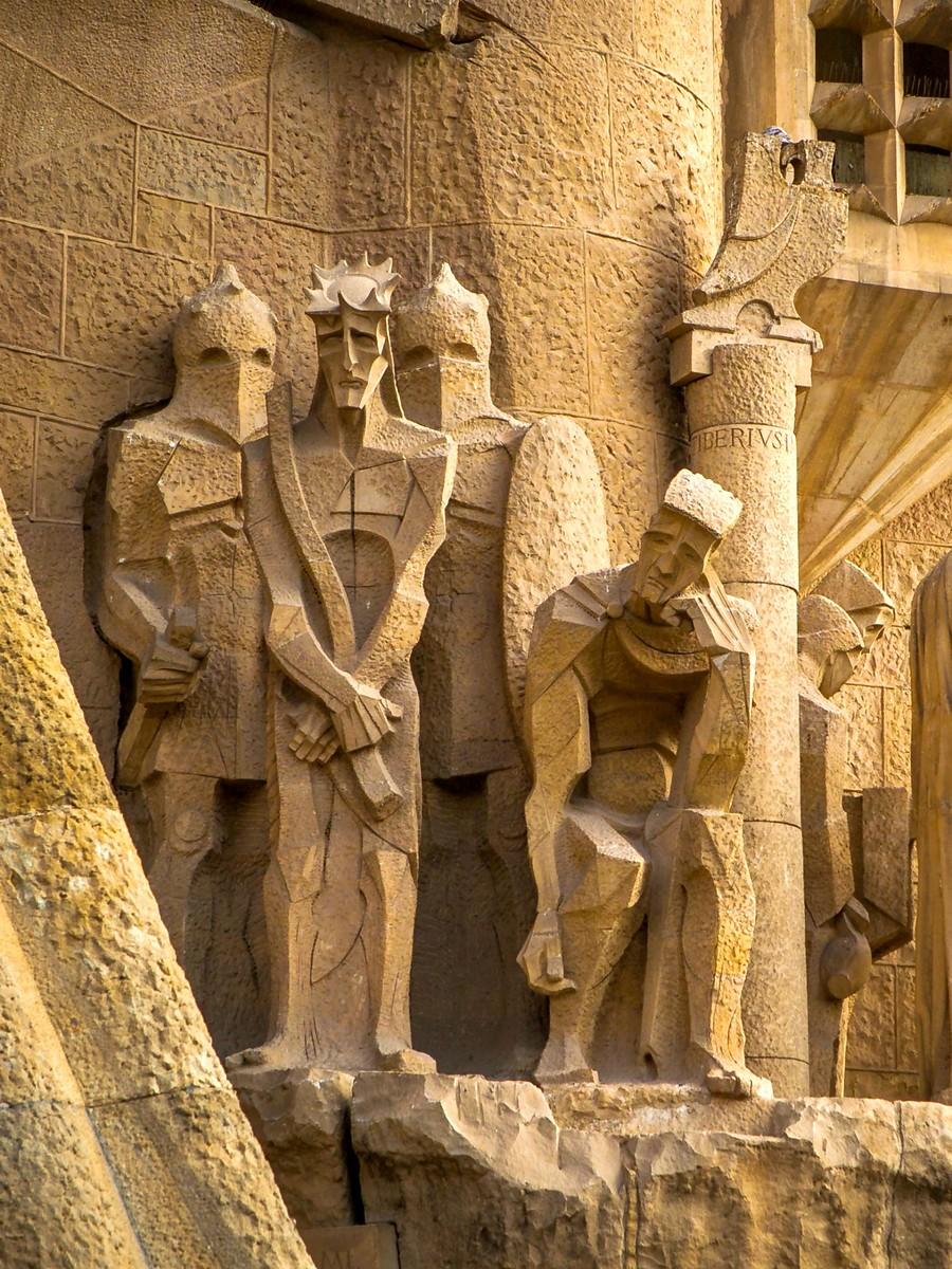 西班牙圣家堂(Sagrada Família), 传统里的超现实_图1-31