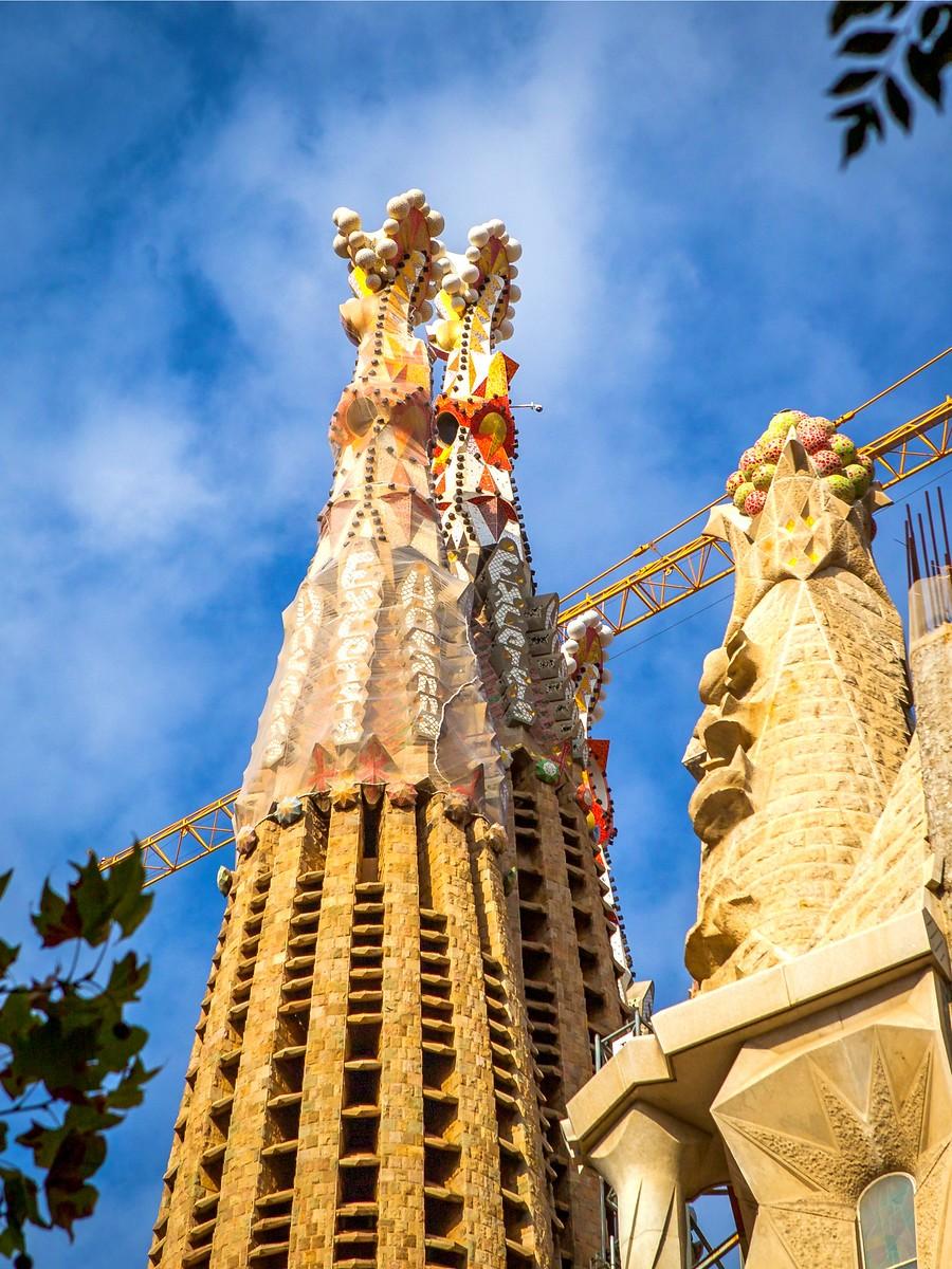 西班牙圣家堂(Sagrada Família), 传统里的超现实_图1-21
